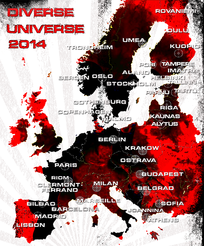 Diverse Universe 2014 on MAP !